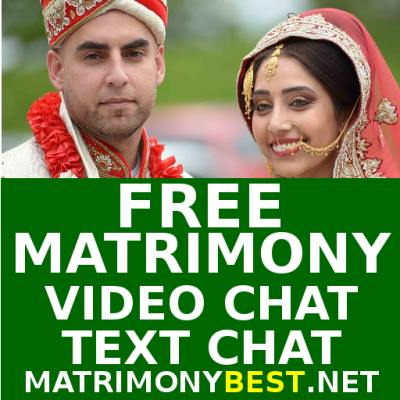 Free Matrimony for Marriage  Video, Audio, Text Chat Messages